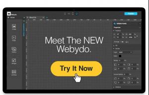 Công cụ thiết kế web Webydo