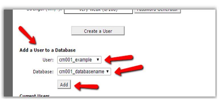 Tạo tài khoản truy cập wordpress