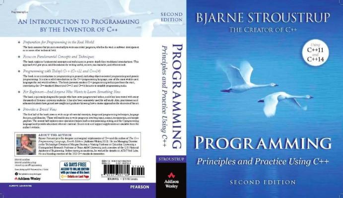 sách lập trình c++ Programming: Principles and Practice Using C++